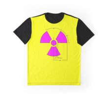 Warning Radiation Sign Template Graphic T-Shirt