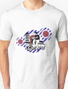 Retro style sixties scooter boy and girl T-Shirt