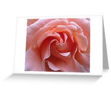 Swirls in Pink Greeting Card