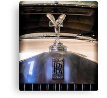 Rolls Royce Vintage Canvas Print