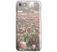 Field of tulips phone cover iPhone Case/Skin