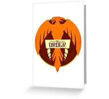 Harry Potter - Order of the Phoenix Greeting Card