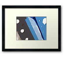 Edges#3 Framed Print