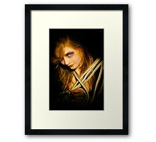 Reality is just an idea Framed Print