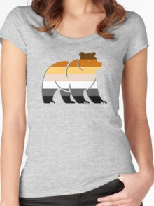 BEAR FLAG BEAR Women's Fitted Scoop T-Shirt