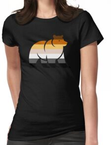 BEAR FLAG BEAR Womens Fitted T-Shirt