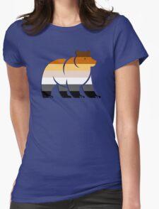 BEAR FLAG BEAR Womens Fitted T-Shirt