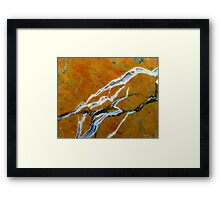 Solid State Electric Framed Print
