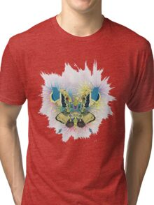 Abstract Butterfly Tri-blend T-Shirt