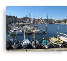 le barchette alla Giraglia Rolex Cup a S.Tropez- FRANCE -EUROPE -  giugno 2012 - vince Esimit Europe 2 - 2200 visualizzaz.a NOVEMBRE 2013-  RB EXPLORE 9 LUGLIO 2012 - Canvas Print