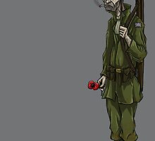 WW2 soldier by Goosemouse