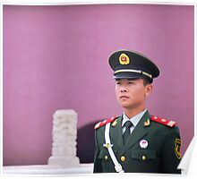 Chinese Guard Poster