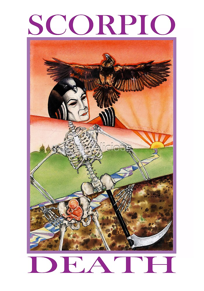 Astrology - Tarot. Scorpio - Death by didielicious