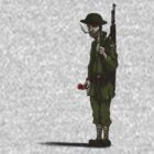 Lone soldier by Goosemouse