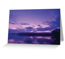 Nakuru Dusk Greeting Card