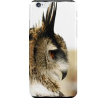 Eagle Owl In Profile iPhone Case/Skin