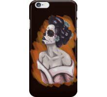 Sugar skull Geisha  iPhone Case/Skin