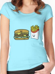 Happy Meal Women's Fitted Scoop T-Shirt