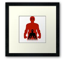 Shrink Shrank Shrunk Framed Print