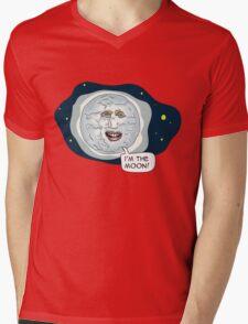 The mighty Boosh - I'm the moon Mens V-Neck T-Shirt