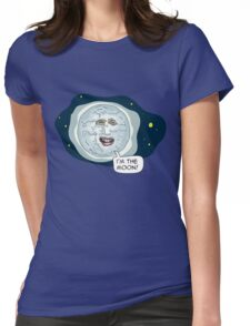 The mighty Boosh - I'm the moon Womens Fitted T-Shirt