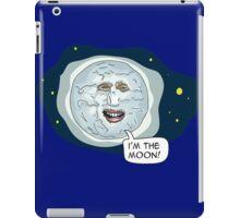 The mighty Boosh - I'm the moon iPad Case/Skin
