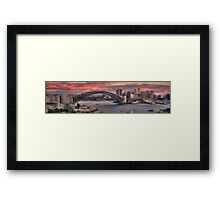The Best Part Of The Day - Sydney Harbour Dawn - The HDR Experience Framed Print