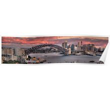 The Best Part Of The Day - Sydney Harbour Dawn - The HDR Experience Poster