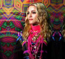 Kaleidoscopic Bohemian Madonna by Ged J