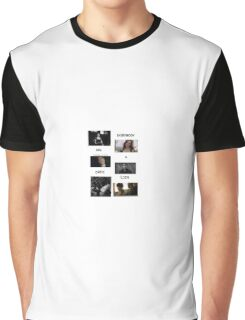 EVERYONE HAS A DARK SIDE Graphic T-Shirt