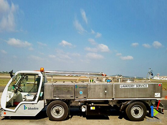 lavatoryservice_cartwidebody(Ground Handling India) by Bhadra