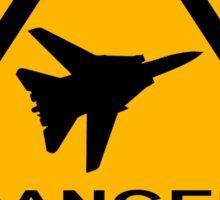 Danger Zone - Triangle Sticker