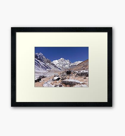 Approaching ABC Framed Print