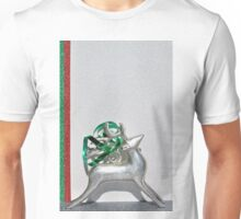Christmas:  Holiday Stripes and a Reindeer II Unisex T-Shirt