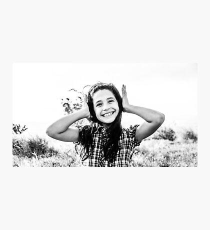 4633. OMG Smile! Photographic Print
