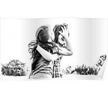 4655. Hug me sister Poster