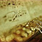 Flute Macro Grunge by Astrid Ewing Photography