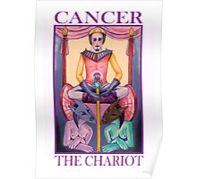 Astrology - Tarot. Cancer - The Chariot Poster