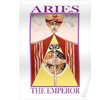 Astrology - Tarot. Aries - The Emperor Poster