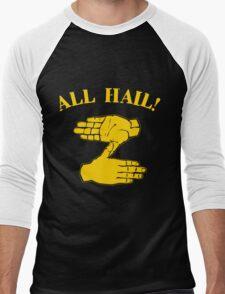 All Hail Zoltan Gold Men's Baseball ¾ T-Shirt