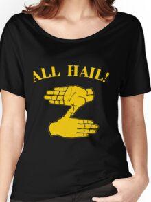 All Hail Zoltan Gold Women's Relaxed Fit T-Shirt