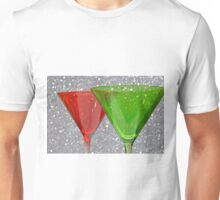 Christmas: Candy Cane and Mint Martinis T-Shirt