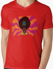 The Mighty Boosh - Rudi van DiSarzio - Rudy - Psychedelic Monk Mens V-Neck T-Shirt