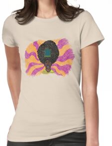 The Mighty Boosh - Rudi van DiSarzio - Rudy - Psychedelic Monk Womens Fitted T-Shirt