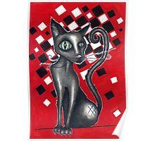 Ska Cat Poster