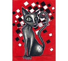 Ska Cat Photographic Print