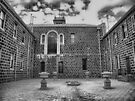Werribee Mansion - Ext IR The Courtyard by lightsmith
