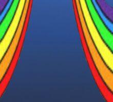 sexy rainbows Sticker