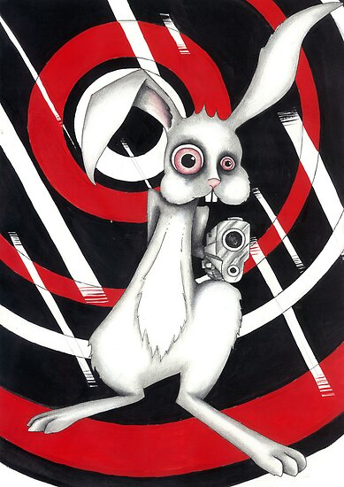 Angry Rabbit by cwatts