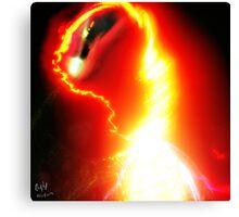 Galactic Embryo Canvas Print